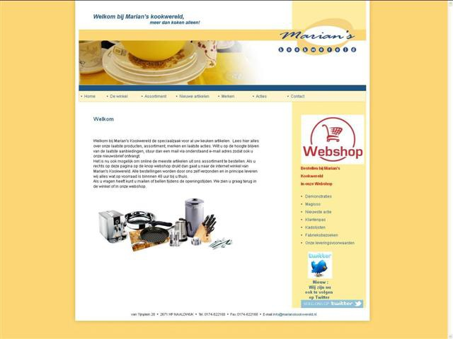 marians-kookwereld-easyPOS-software-website