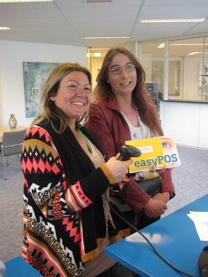 Demonstratie easyPOS software kassa in Schijndel
