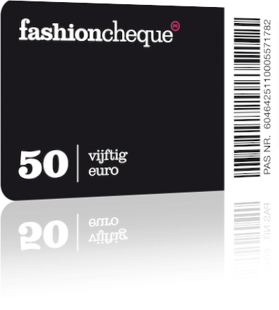 fashioncheque innemen verzilveren via kassa