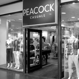 Referentie Peacock Casuals easyPOS software