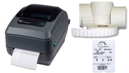 etiketten printen, barcodes afdrukken, etiketprinter, labelprinter