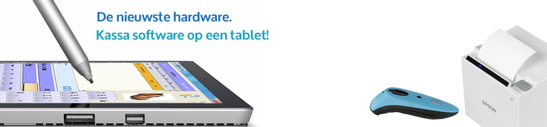 kassa systeem, kassa op tablet, hardware