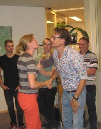 Felicitatie voor Vic van Heeswijk