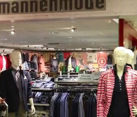 Modehuis Bruinewoud winkel