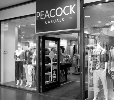 Peacock casuals