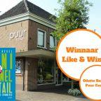 Like & Win - Actie feb-mrt 2017 - winnaar
