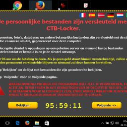 Ransomware veilig internetten