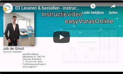 NIEUW instructievideo easyVorasOnline