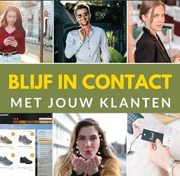 Houd contact met klanten