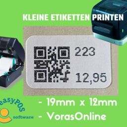 Kleine etiketten printen