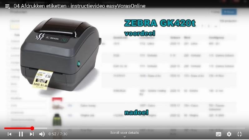 Kijk nu instructie video etiketten afdrukken