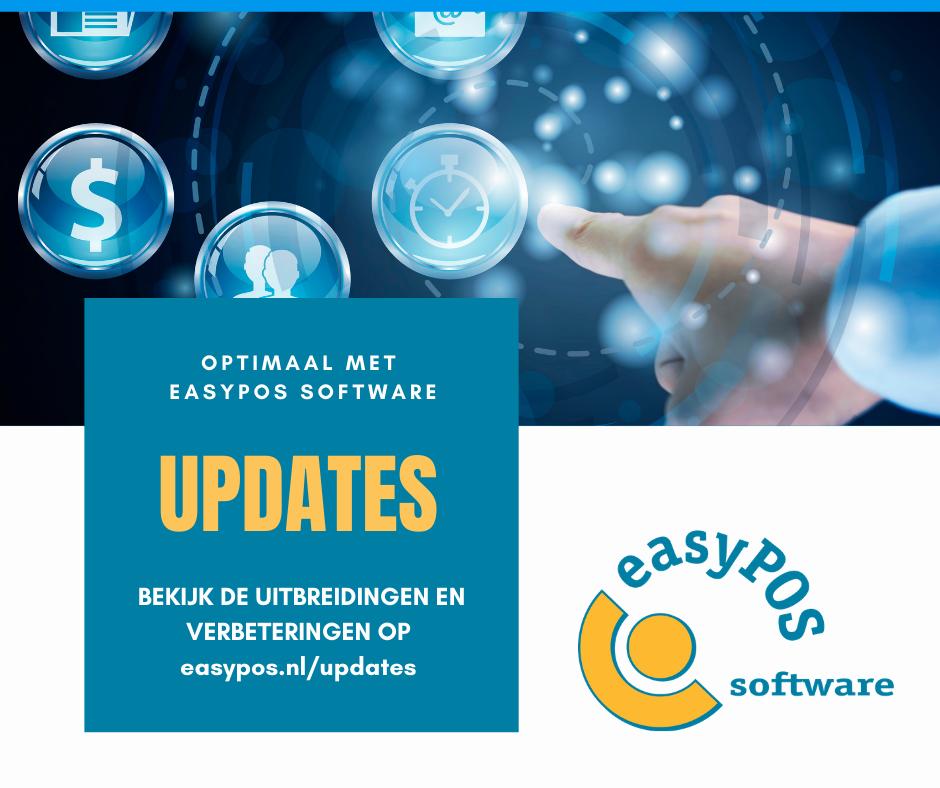 Updates easyPOS software